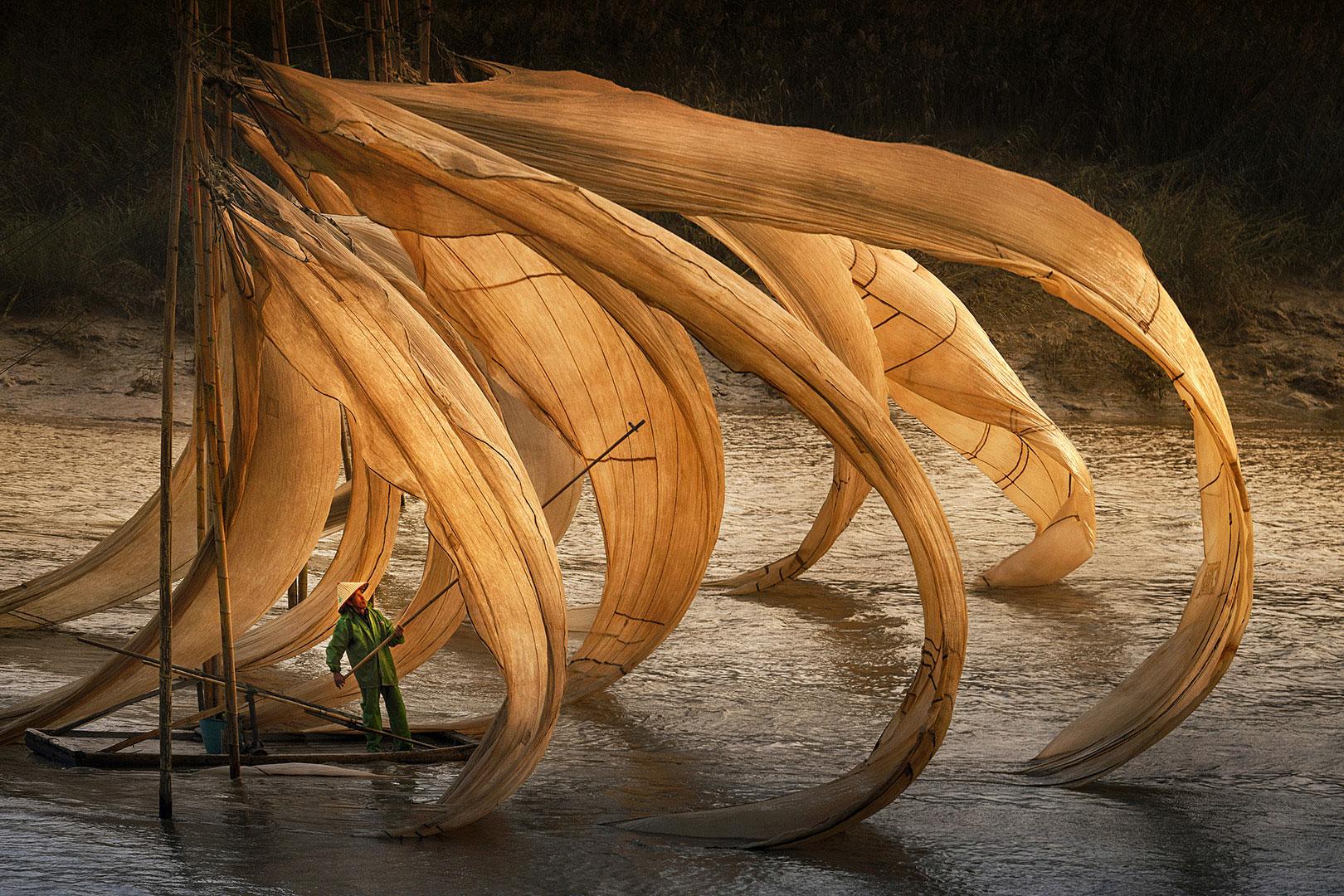 """Danny Wong (Malaysia) """"Fishing Nets"""""""