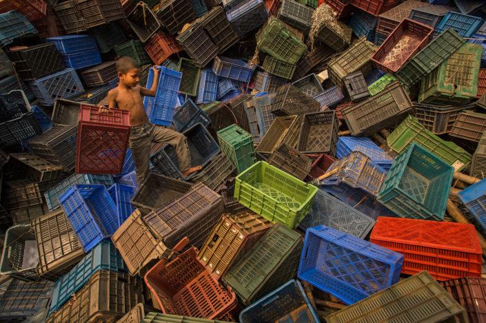 "Danny Wong (Malaysia)""Plastic Basket"""