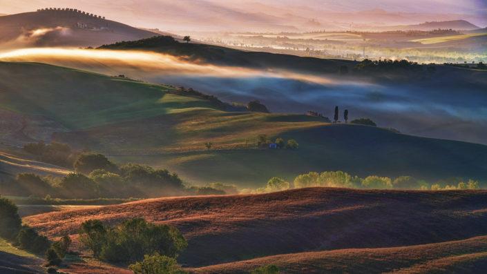"""Lorenzo Di Candia """"Fog in golden hour"""""""