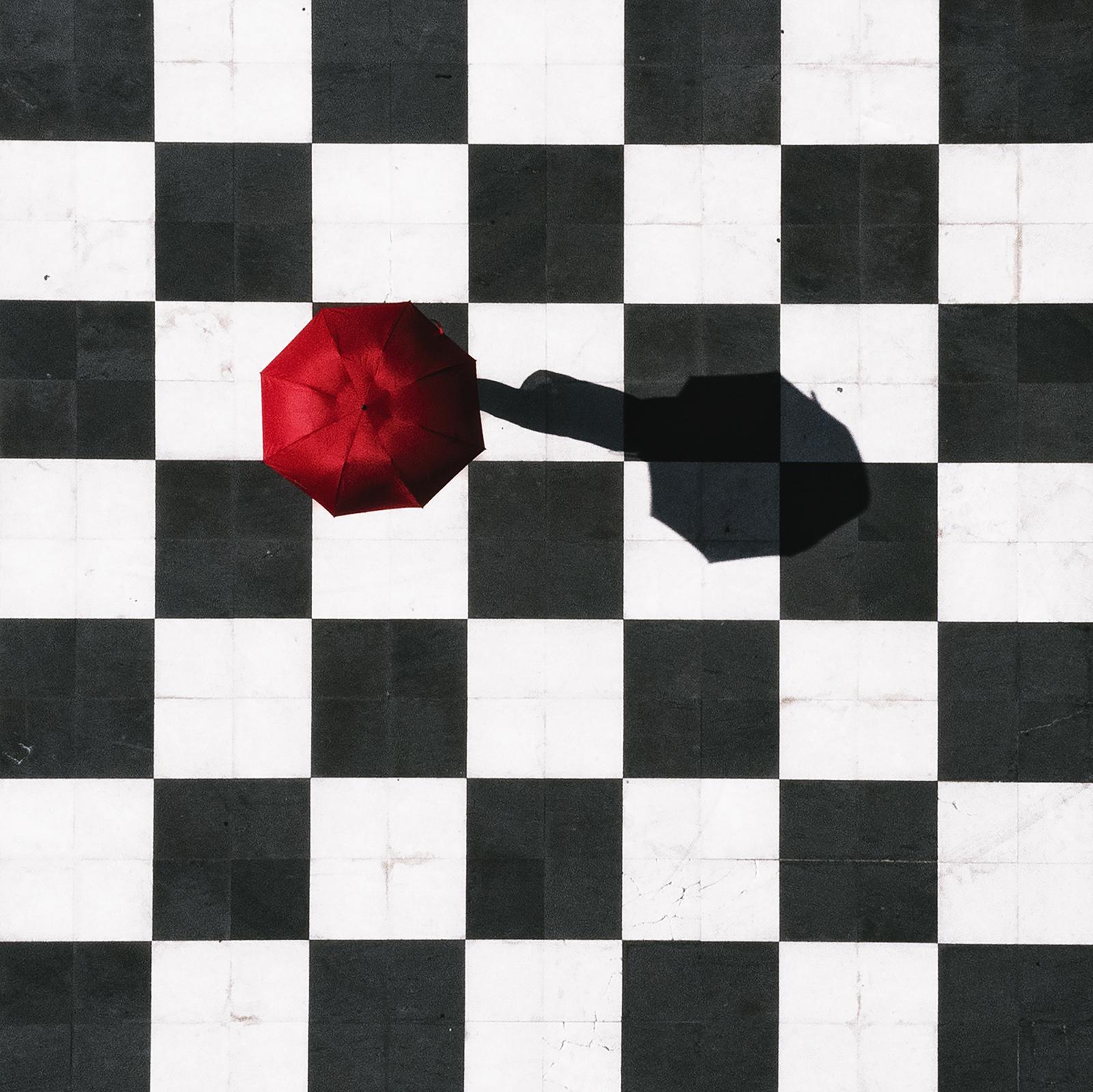 """Lorenzo Di Candia """"The umbrella on the chessboard"""""""